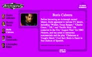 Boris cabrera on nick.com bio