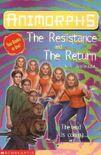 Animorphs book 48 47 return resistance uk cover