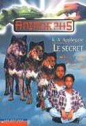 Animorphs 9 the secret Le secret french canadian cover