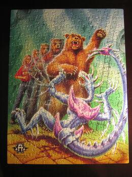Rachel bear animorphs jigsaw puzzle pieces together.jpg