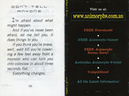 Australian The Invasion Ch 16 mini preview book last inside