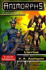 Animorphs 38 the arrival l arrivo italian cover.jpg