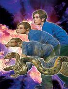 Jake morphing anaconda
