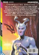 Andalite chronicles french back cover