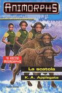 Animorphs 39 the hidden La scatola italian cover