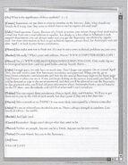 Animorphs Sanctuary Chat 1 side 2