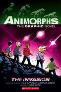 The Invasion Animorphs graphic novel cover
