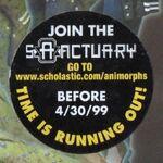Animorphs book 29 sanctuary ad sticker.jpg