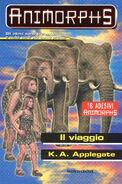 Animorphs 42 the journey Il viaggio italian cover