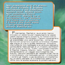 Animorphs 7 the stranger Lo straniero italian back cover.jpg