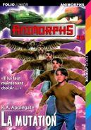 Animorphs 13 the change La mutation French cover folio junior