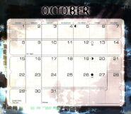 11 2000 calendar October month