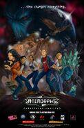 Animorphs shattered reality retailer marketing poster