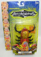 Transformers taxxon alien on card english front