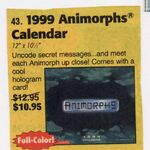 Animorphs 1999 calendar advertised in scholastic book orders.jpg