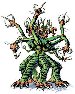 Visser Three licensee illustration eight headed creature.jpg
