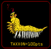 Taxxon from hawk rescue game.png