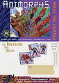 Animorphs book 26 27 transformers postcard