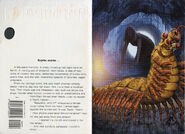Animorphs 43 the test inside cover and quote