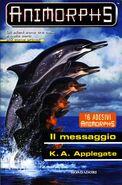 Animorphs 4 the message il messaggio italian cover