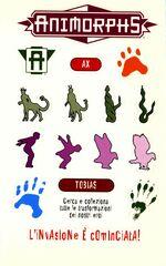 Animorphs 29 the sickness la malattia italian stickers adesivi.jpg