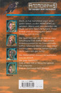 Animorphs 10 the android der android german back cover