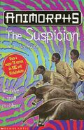 Animorphs 24 the suspicion UK cover