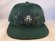 Animorphs baseball cap green A logo front