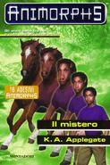 Animorphs 14 the unknown Il mistero italian cover