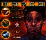 Animorphs 1999 calendar may marco