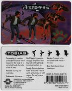 Animorphs tobias ID card front and back
