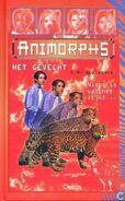 Animorphs 11 the forgotten Het Gevecht Dutch cover