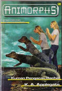 Animorphs book 12 indonesian cover