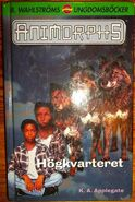 Animorphs 9 swedish hogkvarteret the secret cover