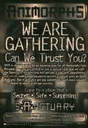 Sanctuary ad from book 27