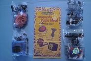 Taco Bell toys and bag 1998