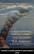 Animorphs book 1 poster sensational new series