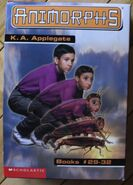 Animorphs boxed set books 29-32 with book 30 cover