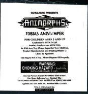 Tobias anistamper bag front