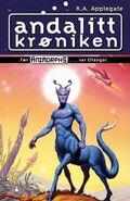 Andalite Chronicles andalitt kroniken Norwegian cover