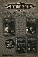Animorphs all four parts vhs ad from book 34