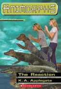 Animorphs 12 the reaction ebook cover