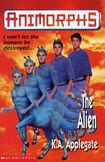 Animorphs 8 the alien UK cover earlier printing