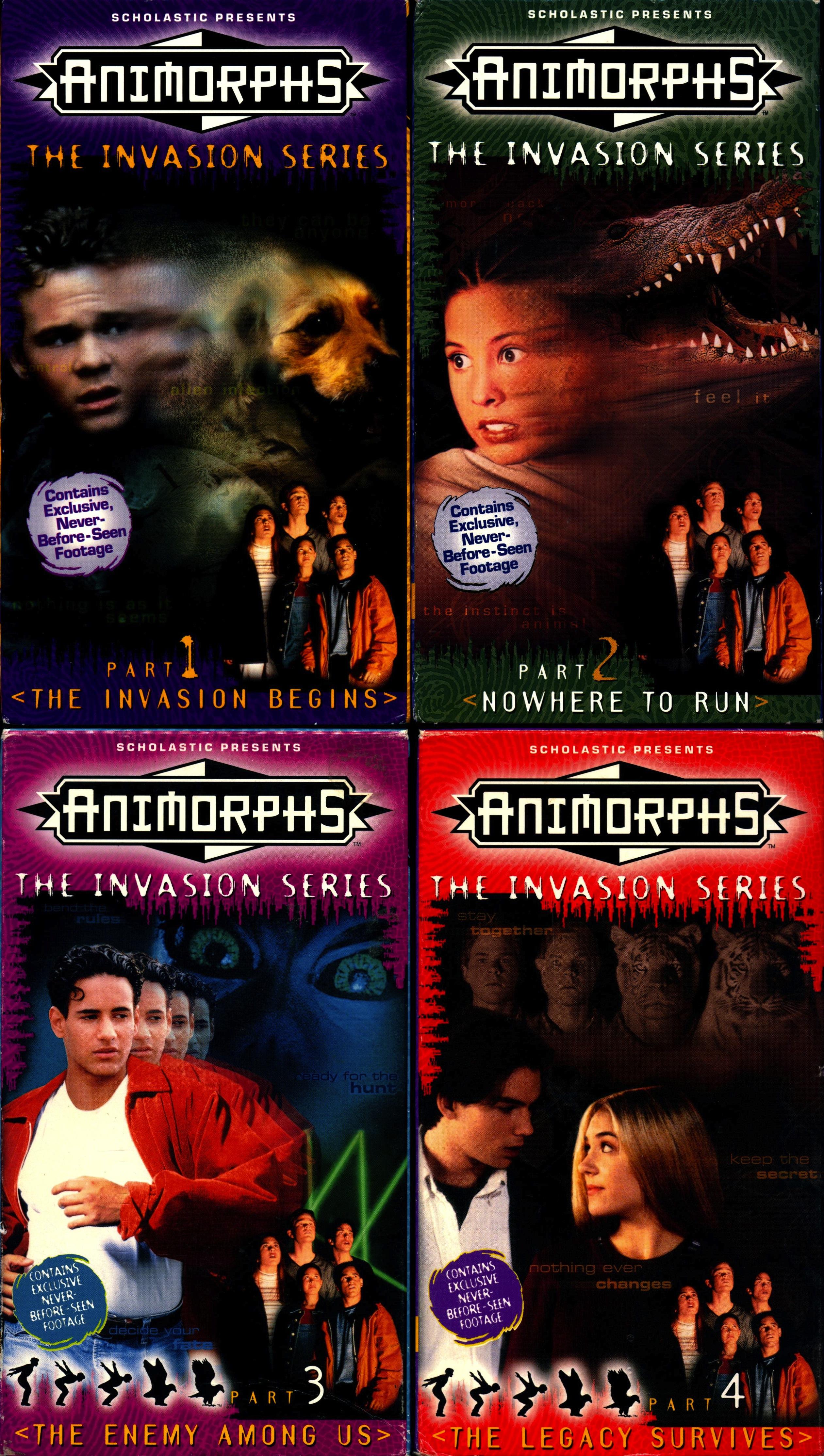 Animorphs VHS Releases