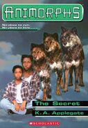Animorphs 09 the secret ebook Scholastic Cover