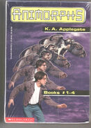 Animorphs boxed set for books 1-4 with book 3 cover