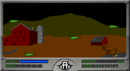 Hawk rescue Level 1 scene with yeerks