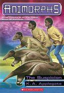 Animorphs suspicion book 24 cover hi res