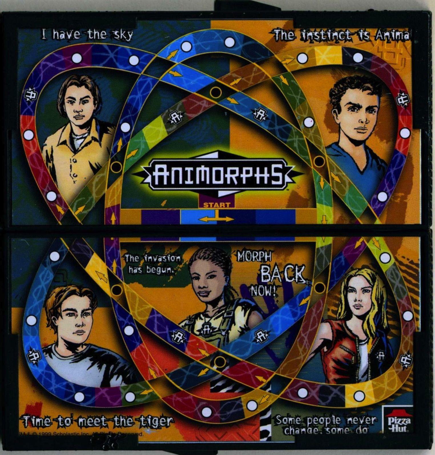 Animorphs Travel Game