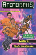 Animorphs 40 the other L altro italian cover